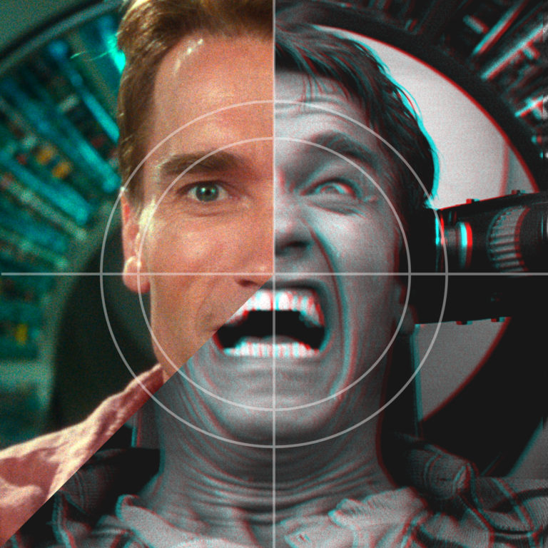 Feature image for the Philip K Dick Psychosis Total Recall article