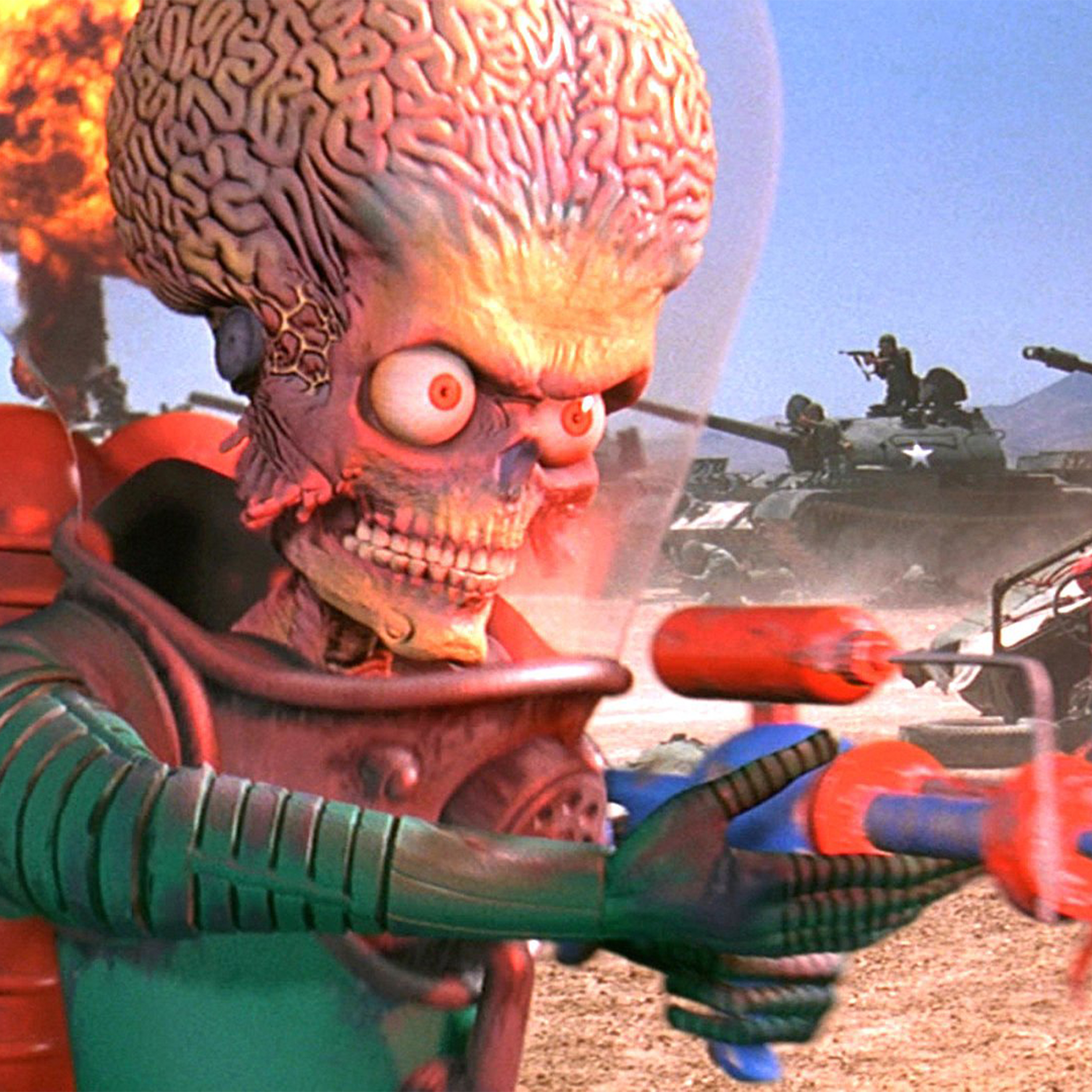 Feature image of Danny Elfman Mars Attacks Interview
